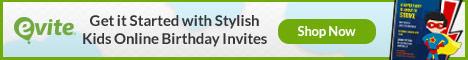 Evite Kids Online Birthday Invites